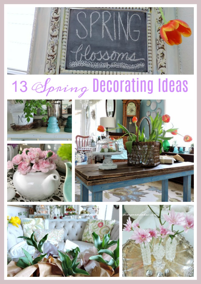 13 Spring Home Decorating Ideas